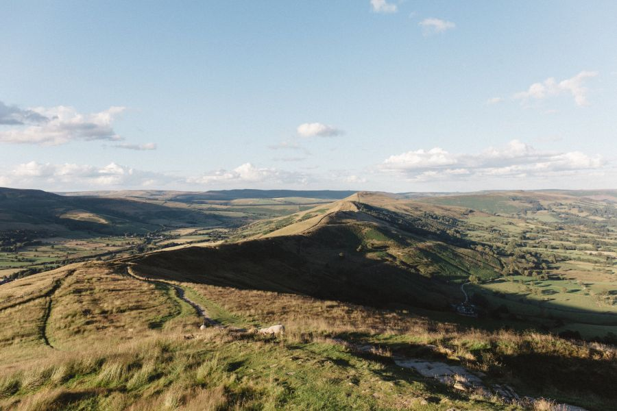 Kinder Scout and Mam Tor