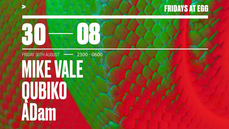 Mike Vale   30th August   Cover