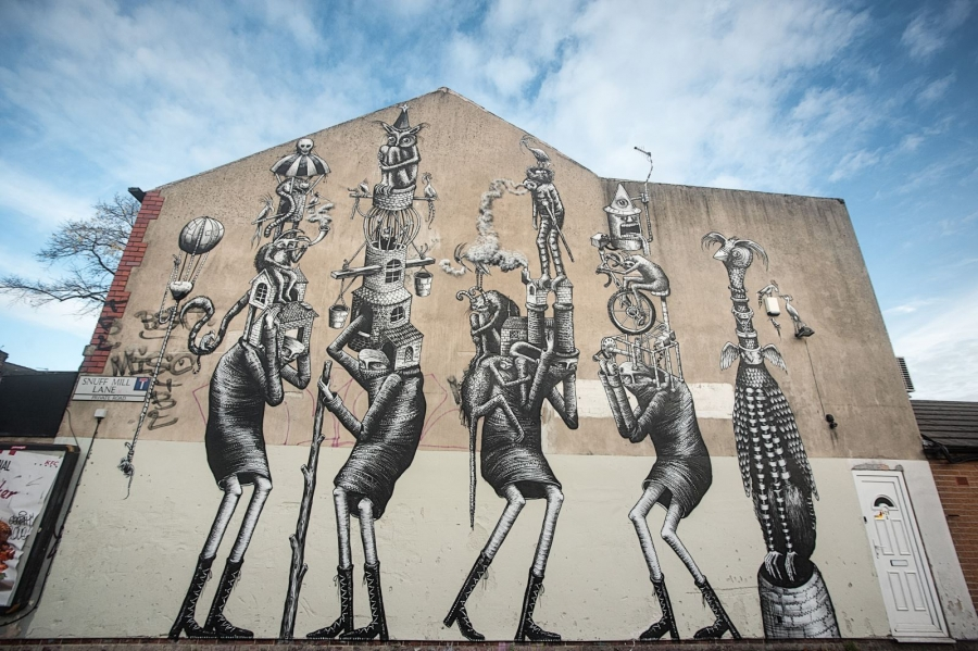 Sheff street art