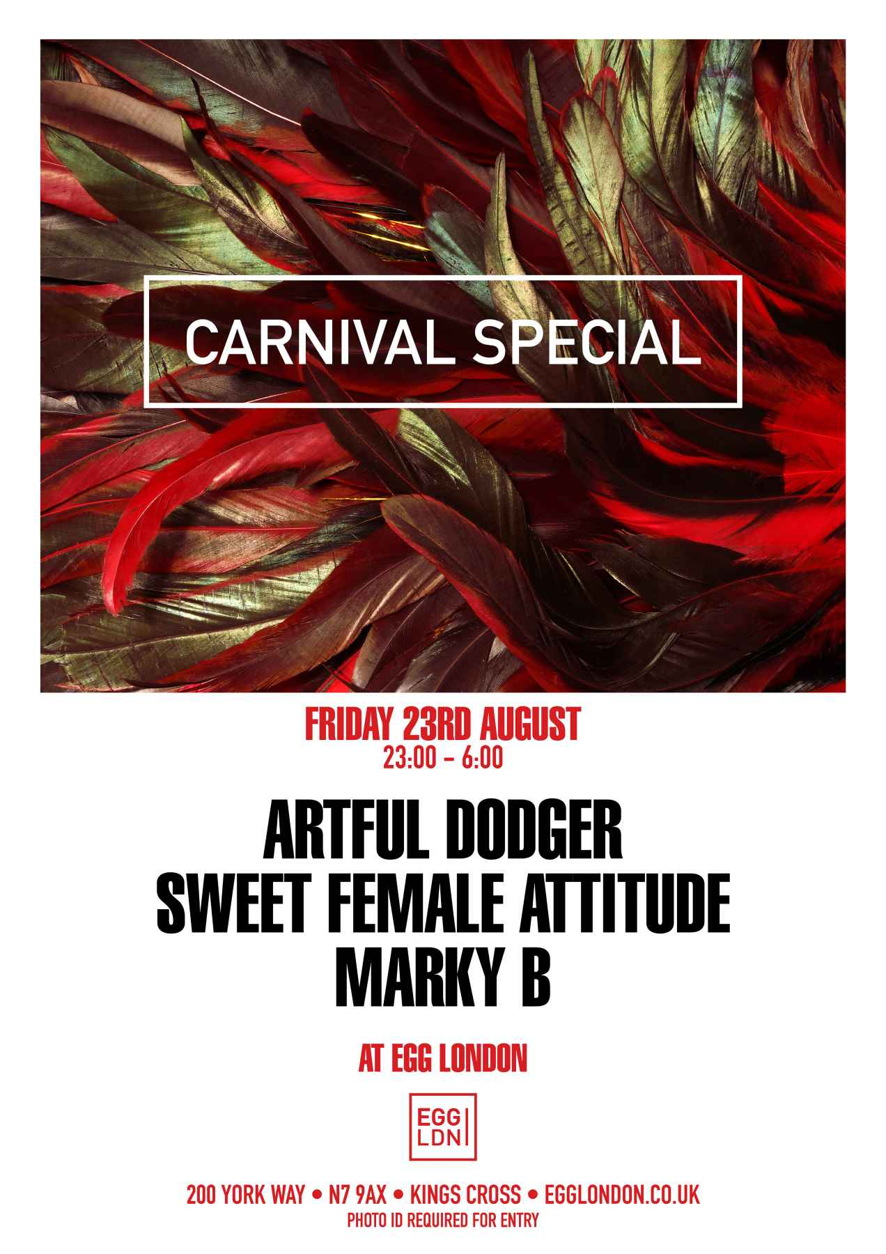 23rd August   Carnival Poster