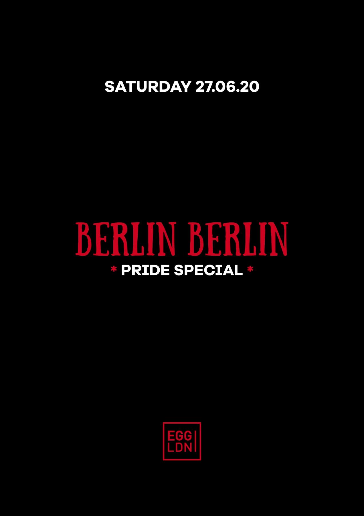 27th June Berlin Berlin   Poster