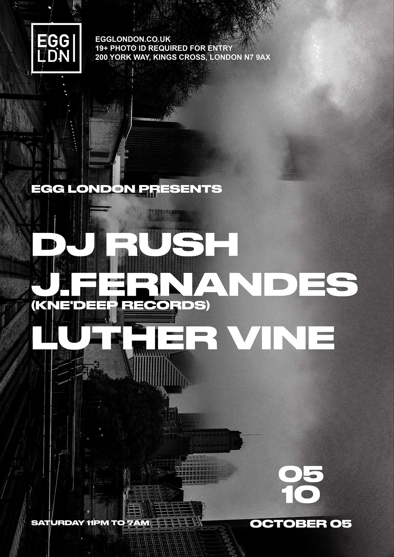 DJ Rush   Poster