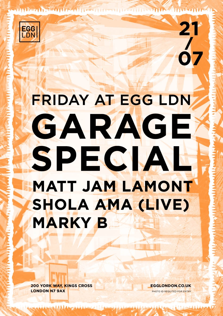 Egg Garage Flyer 1