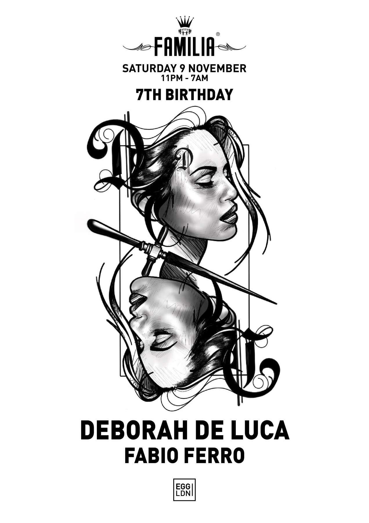 Familia   7th birthday   Poster