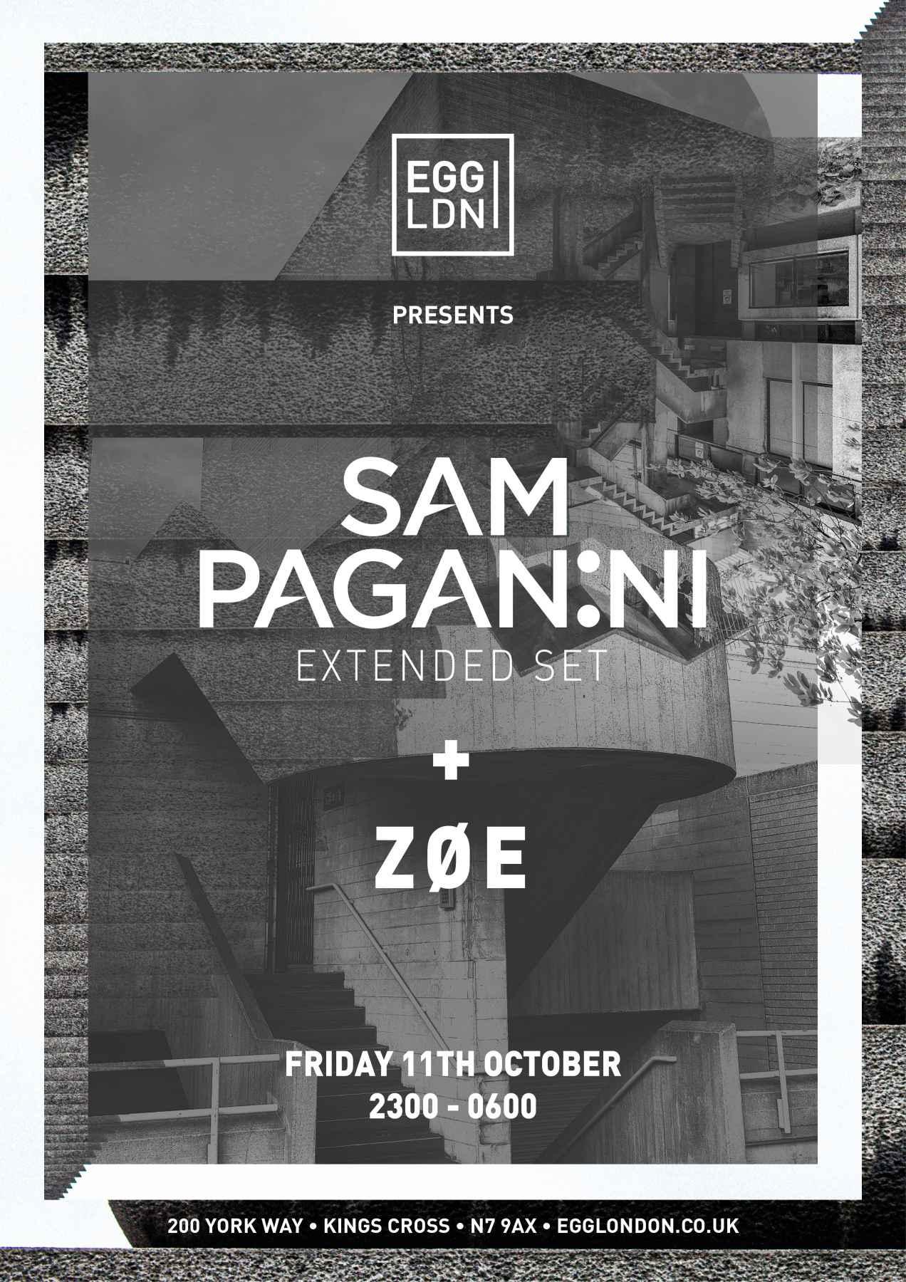 Sam Paganini   Poster