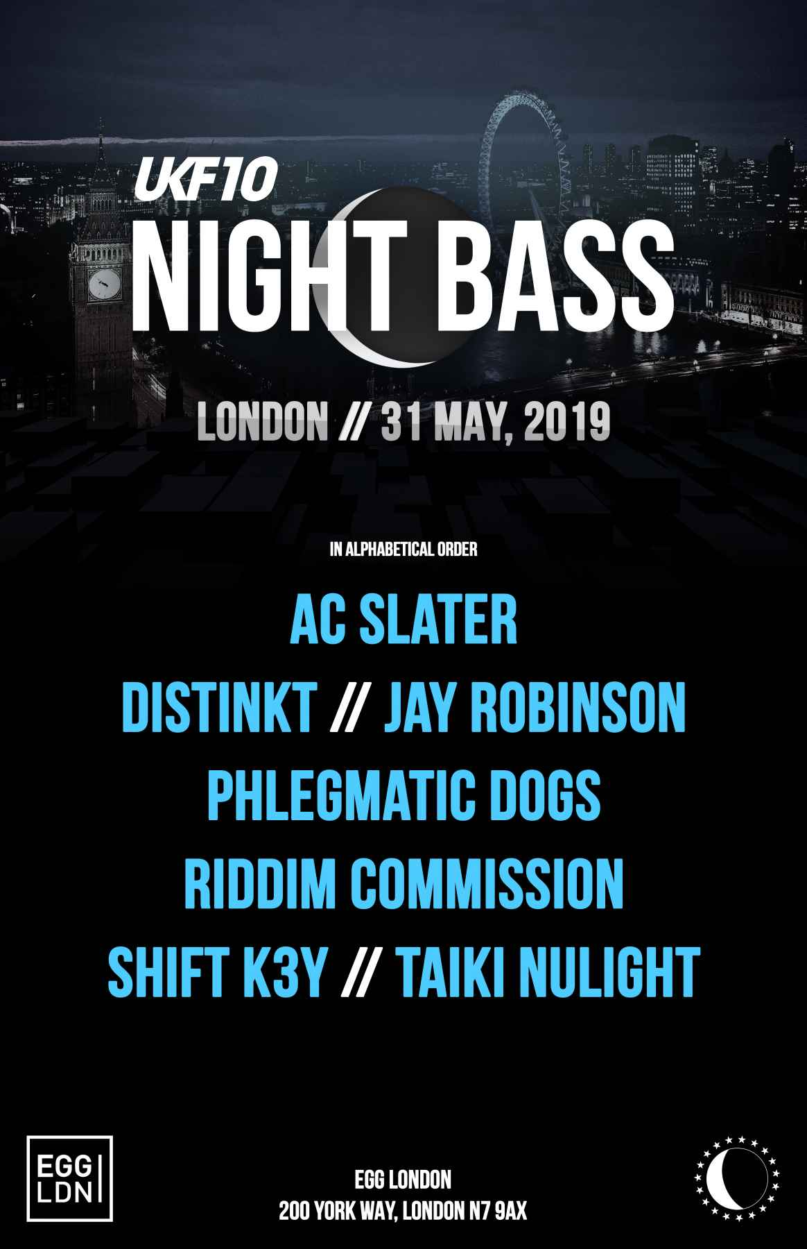 Night bass may 2019 london ukf 10 2